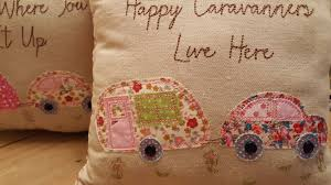 Shabby Chic Cushions Uk by Camper Van Camping Caravan Cushion Vintage Floral Chic Shabby Pink