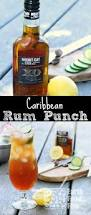 caribbean rum punch the perfect summer cocktail