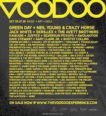 new orleans u0027 voodoo festival adds laundry list of talent u2013 jack