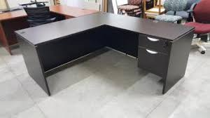 l shape desk with locking drawers madison liquidators