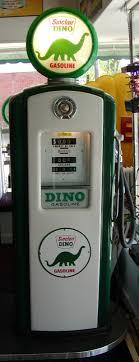 antique gas station lights for sale dino sinclair restored antique gas pump bitw retro vintage