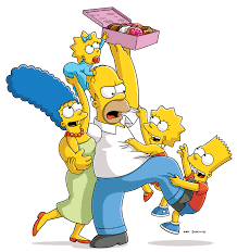 Homer Homer And Lisa Face Halloween Home Invaders In October The