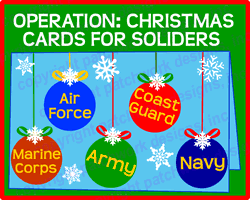 operation christmas cards for soldiers