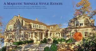 luxury style homes stephen fuller designs shingle style