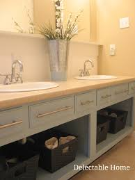 How To Remove Bathroom Vanity Remove The Doors And Repaint An Bathroom Vanity For An Updated
