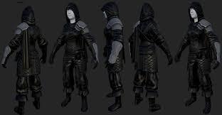 Skyrim Light Armor Mods Thief Armor By Newermind43 On Deviantart