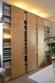 Wall Bookcase With Doors How To Hack Sliding Doors For Ikea Billy Bookcases Ikea Billy