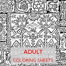 coloring sheets stress relief