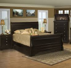 belle rose queen sleigh bed by new classic home gallery stores