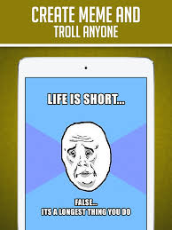 How To Make A Meme On Iphone - funny insta meme generator make custom memes with lol pics troll