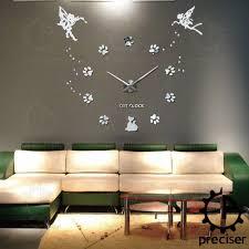 online shop 25 u0027 u0027 40 u0027 u0027 large oversized diy 3d wall clock angel