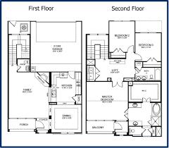 2 floor house plans enchanting 2 story loft house plans gallery best inspiration