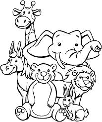 zoo coloring www mindsandvines