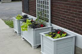 planter boxes with trellis rickety furniture