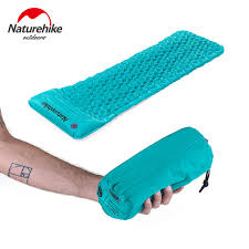 naturehike outdoor camping inflatable tent moisture proof mat