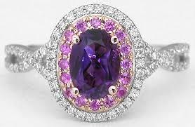 amethyst wedding rings amethyst wedding rings rikof