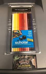 prismacolor scholar colored pencils prismacolor scholar colored pencils 24 count 92805 new ships