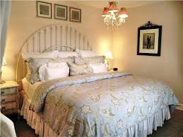 bedroom blue shabby chic bedding cork decor lamp bases blue