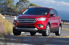 2017 ford escape first drive