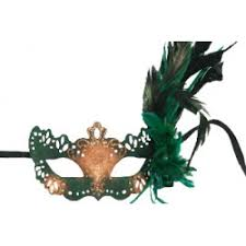 mardi gras mask with feathers feather masks without stick