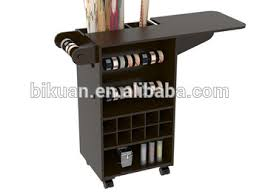 Folding Table On Wheels Wooden Diy Craft Wooden Storage Cabinet Cart With Wheels And