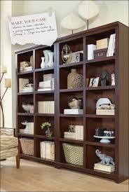 living room fabulous ashley furniture bookcase with glass doors