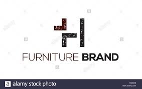 Letter Furniture H Letter Vector Furniture Or Chair Logo Design Template Interior