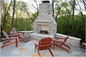 backyards trendy backyard brick fireplace backyard design