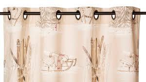 linge de lit style chalet montagne rideaux style montagne cool rideaux brisebise rideau en tissu ray