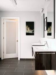 Modern Bathroom Door Contemporary Bathroom With Sliding Barn Door Different Types Of