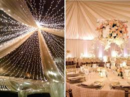 Preowned Wedding Decor Used Wedding Decor Toronto Ceiling Draping With Or Without Lights