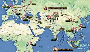 Map Of Jakarta What China U0027s One Belt And One Road Strategy Means For India Asia