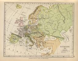 Map Of Mediterranean Europe by