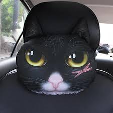 coussin si e auto qll 3d chien voiture appui tête cou oreiller de voiture siège