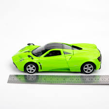 pagani zonda side view collectible car models green pagani zonda vehicle car 1 32 alloy