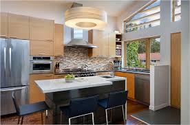 Design Your Kitchen by Small Modern Kitchen With Island
