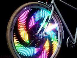 best led bike lights review monkeylectric bike wheel lights youtube