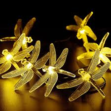 Dragonfly String Lights by Dragonfly Solar String Lights Dragonfly Solar String Lights