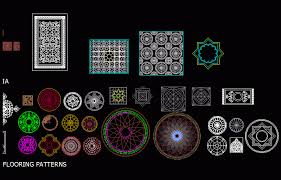 islamic pattern cad drawing patterns all dwg block for autocad designs cad