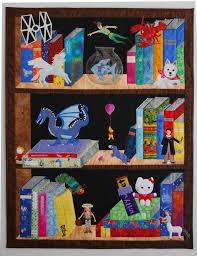Kid Bookshelves by 164 Best Bookshelf Quilts Images On Pinterest Book Quilt Quilt