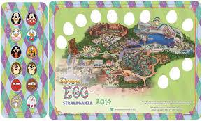 map of california adventure eggs istencial event returns to disney parks disney parks