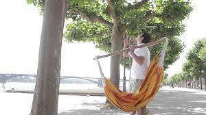 la siesta tree for hammock chairs youtube
