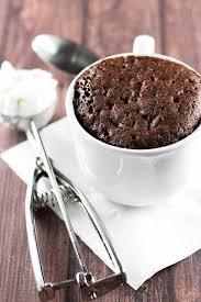molten chocolate mug cake gone gourmet