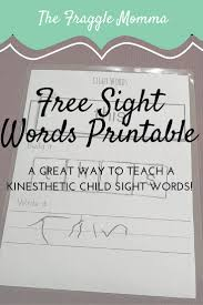 free printable sight words worksheets at home with holly