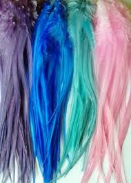 mermaid hair extensions glowing feather hair extensions coachella