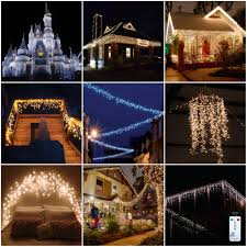 led window curtain icicle lights for christmas wedding house