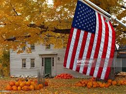 American Flag House American Flags On Homes Pictures Getty Images