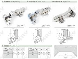 Hinges For Kitchen Cabinets Doors 45 Degree Fitting Kitchen Cupboard Door Hinges S45 Installation