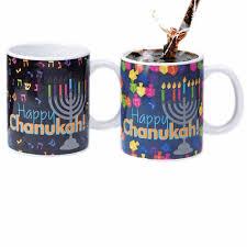 hanukkah tableware gifts hanukkah tableware transforming chanukah mug