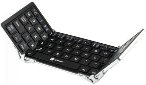 bluetooth keyboard for android iclever ic bk03 tri folding magnetic bluetooth keyboard